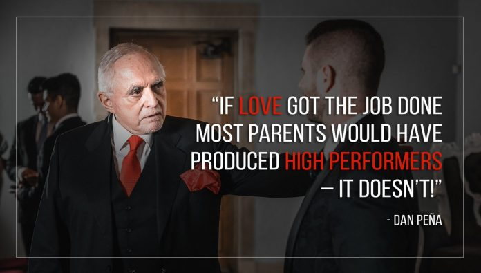 dan pena love doesnt get the job done