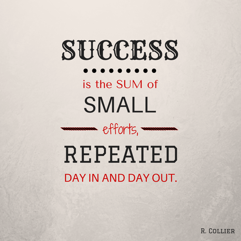 success is daily habits